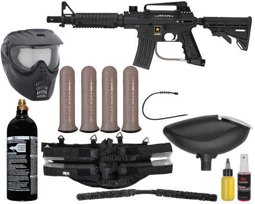 Tippmann Gun Package Kit - Alpha Black Elite - Mega Set
