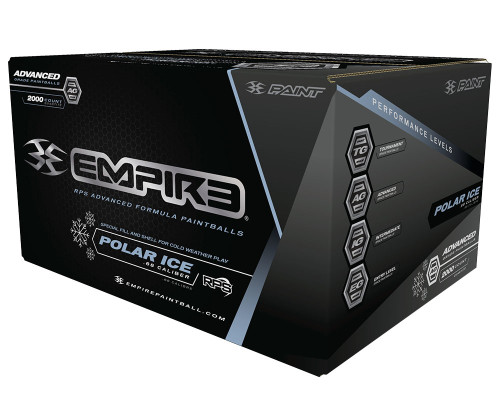Empire Polar Ice Paintballs - 100 Rounds