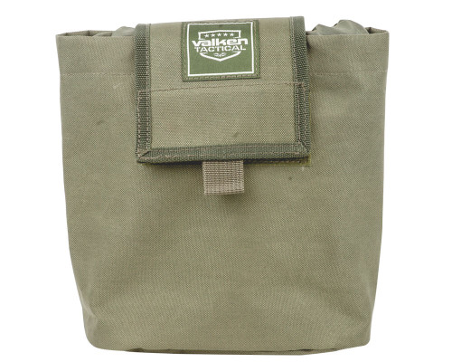 Valken Tactical Airsoft Magazine Pouch - Folding Dump Pouch