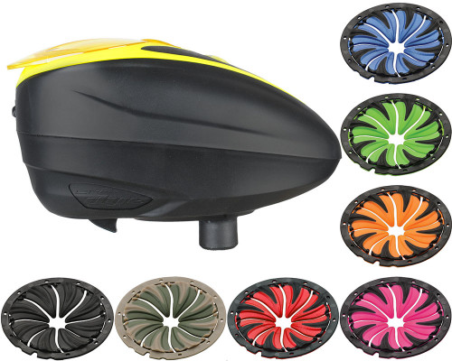 Dye LTR Electronic Hopper w/ 6.0 Quick Feed - Black/Yellow