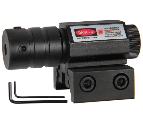 Warrior Paintball Red Tactical Laser Sight w/ Rail Mount