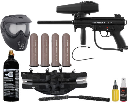 Tippmann Gun Package Kit - A5 Semi Auto - Mega Set