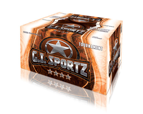 GI Sportz 4-Star Paintballs - 2,000 Rounds