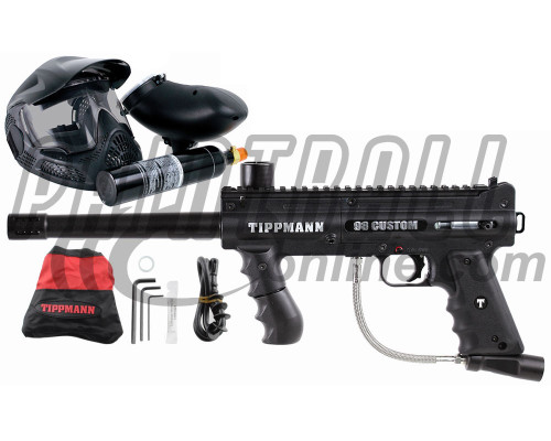Tippmann 98 Custom Ultra Basic Platinum Power Package Kit