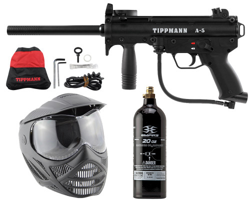 Tippmann A5 Paintball Gun - Power Pack Kit