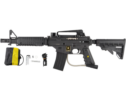 Tippmann Alpha Black Elite Paintball Gun - E-Trigger