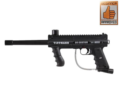 Tippmann 98 Custom Paintball Gun - Ultra Basic Platinum