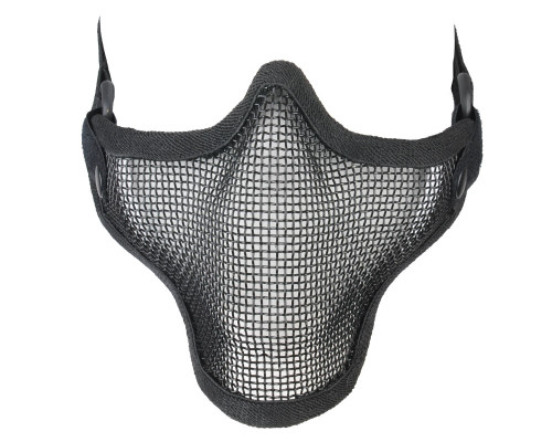 Lower Half Face 1G Mesh Airsoft Masks