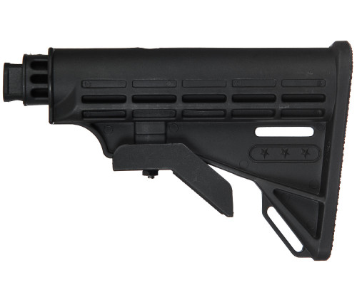 Tippmann Stock - Collapsible - Alpha Black, Carver One & Project Salvo