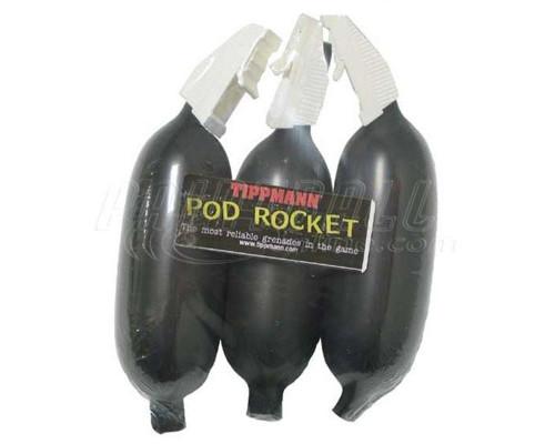 Atomic Ordnance Pod Rocket Paintball Grenade 3 Pack