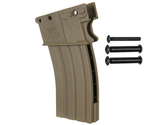 LAPCO M4 Magazine Kit for Tippmann A5 with Selecter Switch - Dark Earth