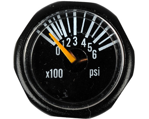 Empire Invert Micro Gun Gauge - 600 PSI (46097)