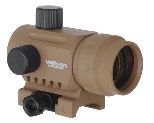 Valken Mini Red Dot Sight - Tan (73797)