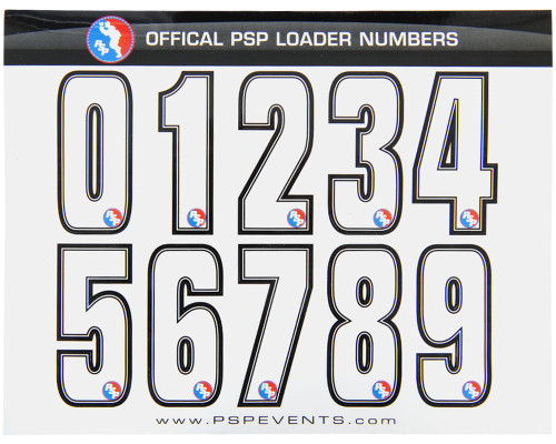 Dye Sticker - PSP Loader Numbers