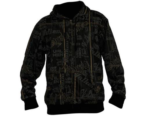 Valken Zip-Up Hooded Sweatshirt - Branded
