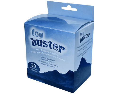 Valken Goggle Systems Anti-Fog Lens Cleaner Wipes - Fog Buster (30 Pack) (V159002)