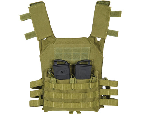 Warrior Low Profile Tactical Paintball Vest - Plate Carrier