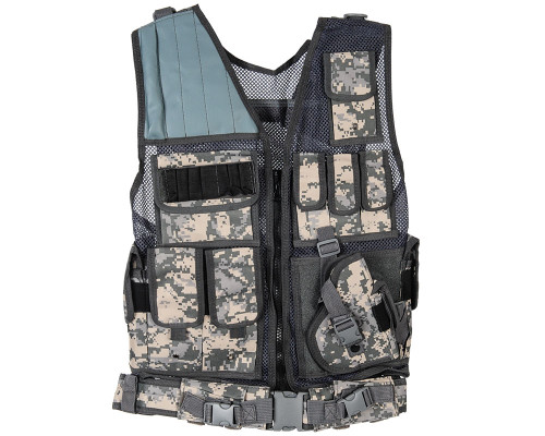 Warrior Tactical Paintball Vest - Crossdraw