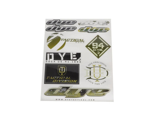 Paintball Sticker Sheet - Dye Tactical