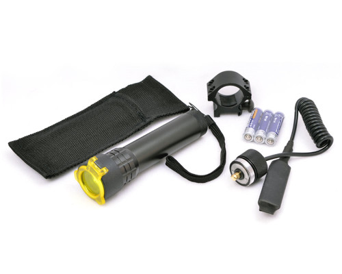Valken LED Flashlight Combo Kit w/ Mount, Filter & Remote (73766)