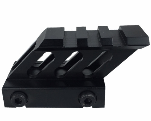 "Valken Tactical Airsoft Part #79591 - 45 Degree Riser Mount 1"" - 3 Slot"