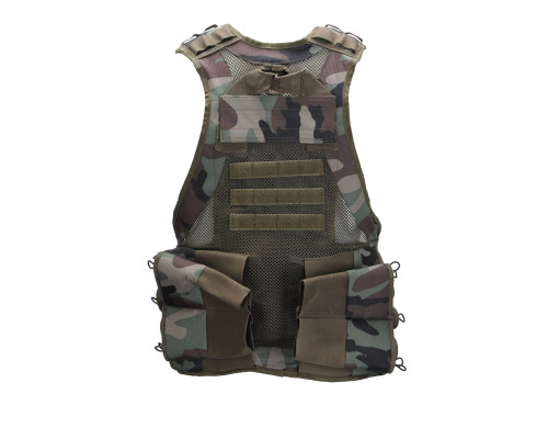 Valken V-TAC Bravo Paintball Tactical Vest - Woodland