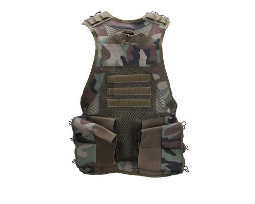 Valken V-TAC Bravo Paintball Tactical Vest - Woodland