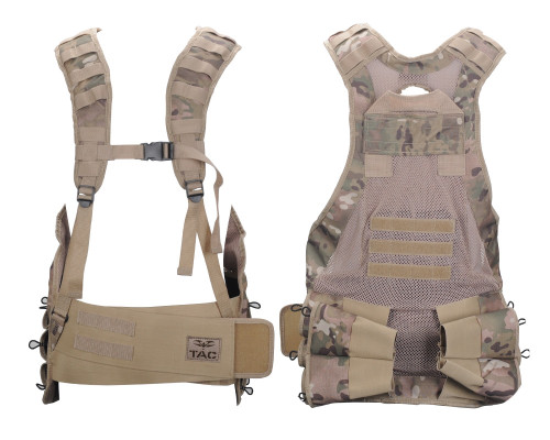 Valken V-TAC Bravo Paintball Tactical Vest - V-Cam