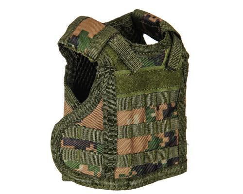 Warrior Vest Bottle Coozie