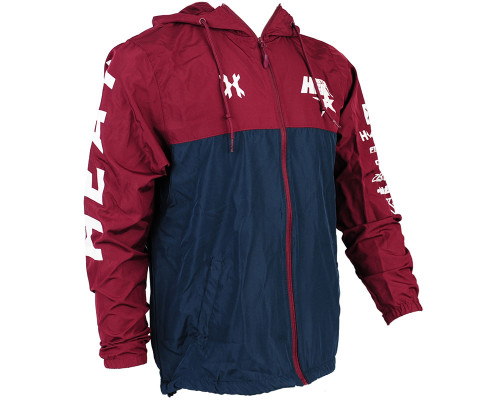 HK Army Men's Windbreaker Jacket - Houston Heat
