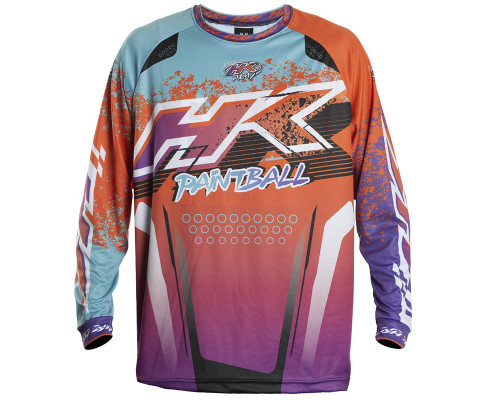 HK Army Retro Paintball Jersey - Liquid