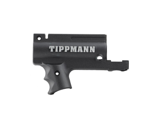 Tippmann 98 Replacement Part #TA02073 - Black Nickel AC Receiver - Left Front