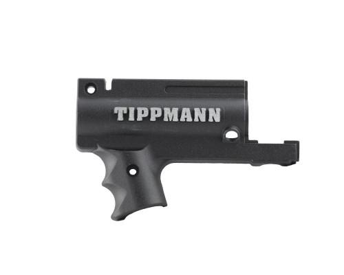 Tippmann 98 Replacement Part #TA02073 - Black Nickel AC Receiver - Left Front