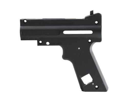 Tippmann 98 Replacement Part #TA02074 - Black Nickel AC Receiver - Left Rear