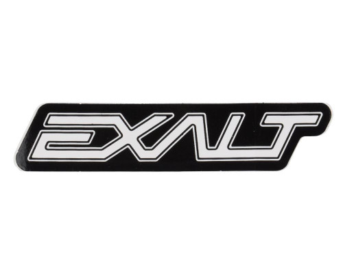 Paintball Sticker Sheet - Exalt Logo (White/Black)