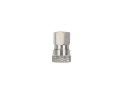 Replacement Remote Line Parts - Female Quick Disconnect Fitting (Nickel)