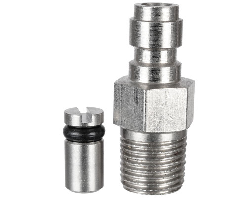 Valken Tank Accessory - Stainless Steel Mini Fill Nipple