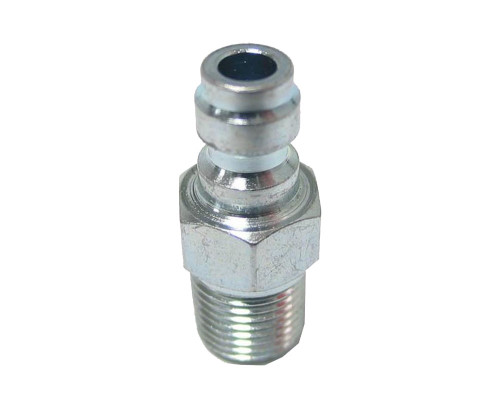 Replacement Remote Line Parts - Male Quick Disconnect Fitting (Nickel)