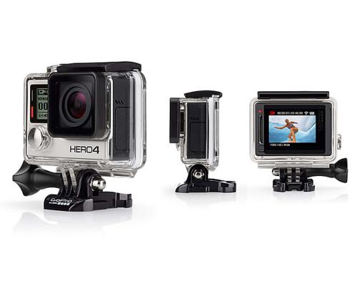 GoPro Camera (CHDHY-401) - Hero 4 Silver Edition