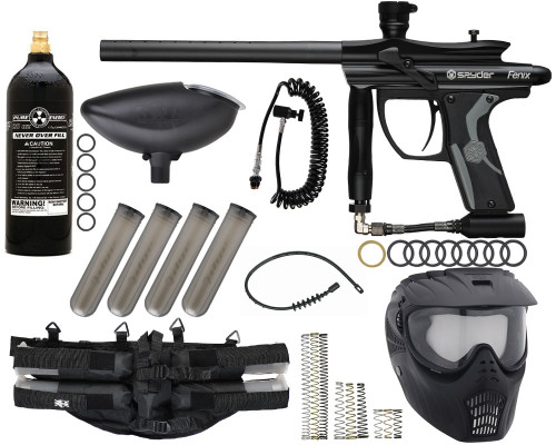 Kingman Gun Package Kit - Spyder Fenix - Tracker