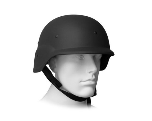 Gen X Global Tactical Paintball & Airsoft Hard Plastic Helmet (Black)