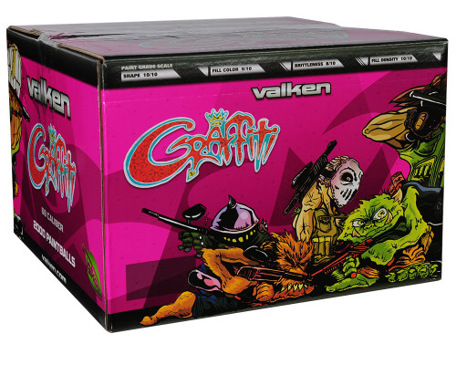 Valken Graffitti Paintballs - 500 Count