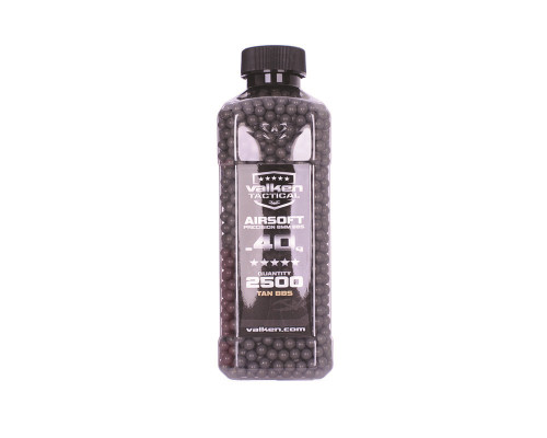 .40g Airsoft BB's - 2500 Count - Valken Tactical (Grey)