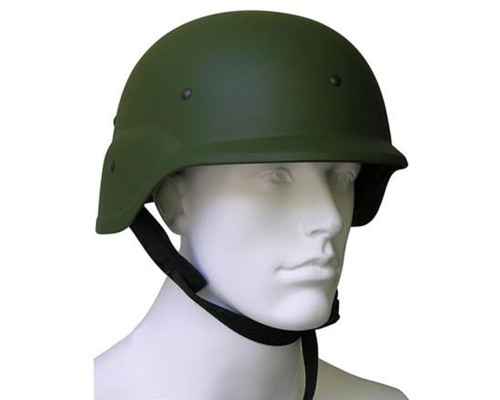 Gen X Global Tactical Paintball & Airsoft Hard Plastic Helmet (Olive)
