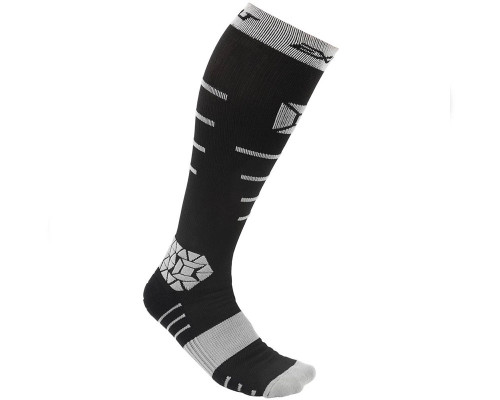 Exalt Paintball Socks - Compression (Black/Grey)