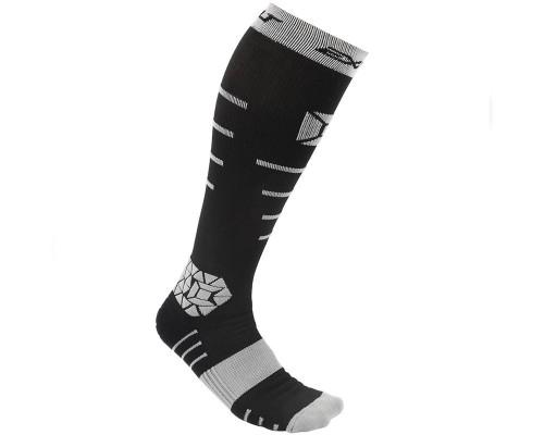 Exalt Paintball Socks - Compression (Black/Grey)