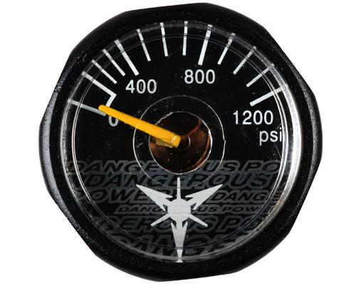 Dangerous Power Marker Gauge - 1200 PSI (Black)