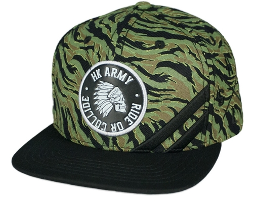 HK Army Snap Back Casual Hat - Collide