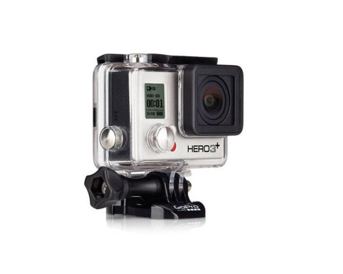 GoPro Camera (CHDHN-302) - Hero 3+ Silver Edition