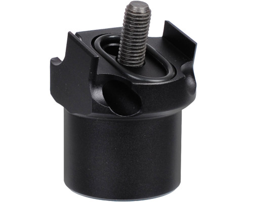 ANS Autococker/Cocker Part - 15 Degree Vertical ASA Adapter (Dust Black)